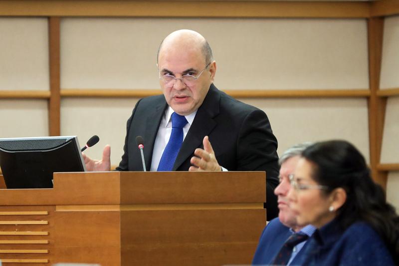 Михаил Мишустин подвел итоги работы налоговых органов за 2018 год
