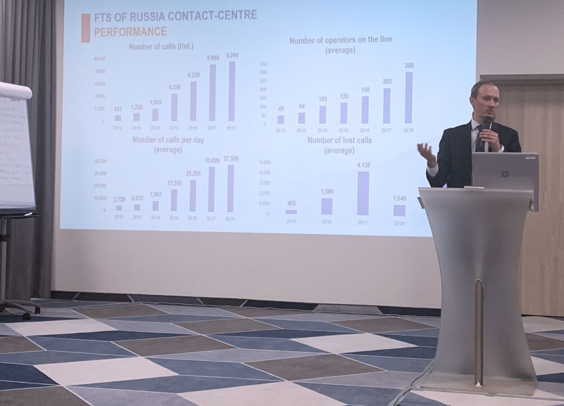 Делегация ФНС России поделилась планами развития Единого Контакт-центра ФНС России