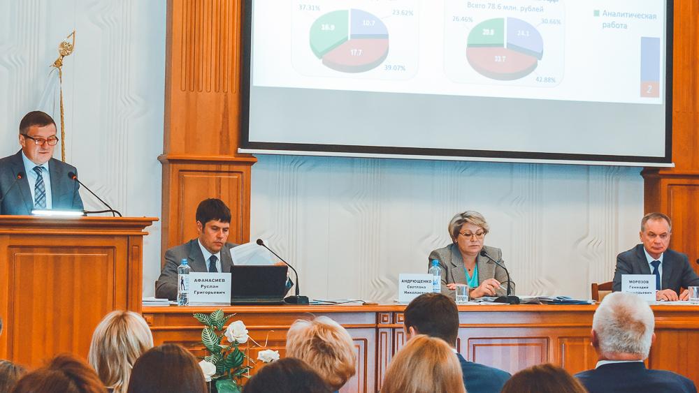 Светлана Андрющенко подвела итоги работы налоговых органов Сибирского федерального округа за четыре месяца 2019 года