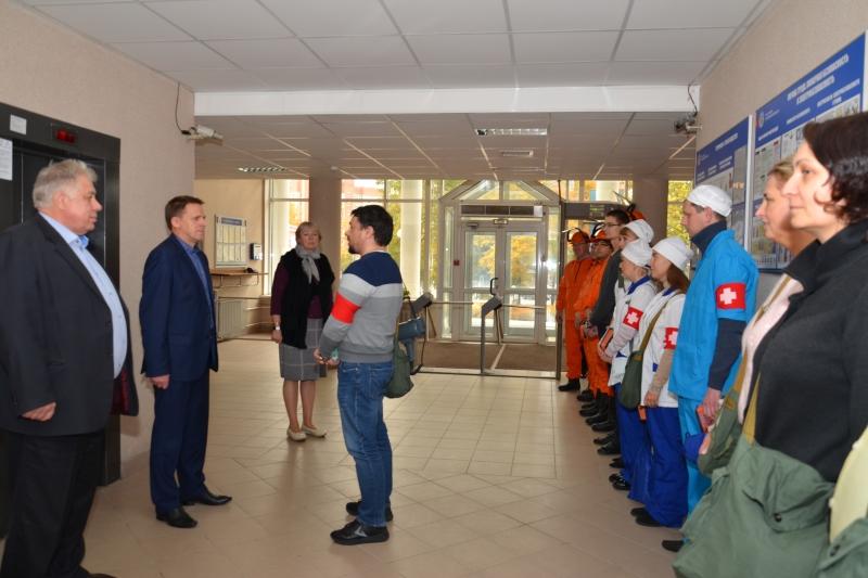 В УФНС России по Смоленской области прошла штабная тренировка по гражданской обороне
