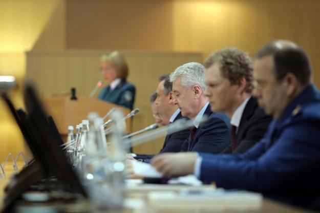 Даниил Егоров принял участие в заседании коллегии Управления ФНС России по Москве