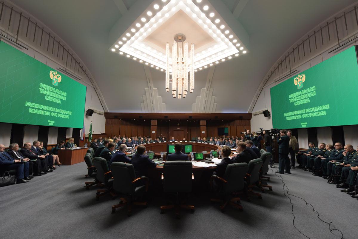 Даниил Егоров принял участие в расширенном заседании коллегии Федеральной таможенной службы