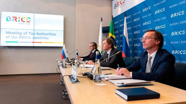 Даниил Егоров провел встречу руководителей налоговых администраций стран БРИКС