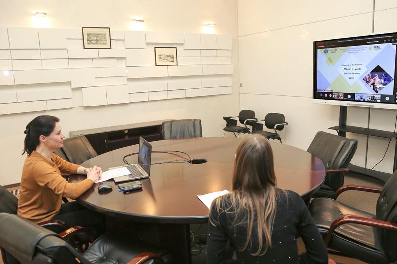 ФНС России представила передовые технологии налогового администрирования на вебинаре IOTA и CIAT