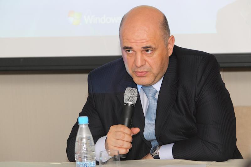 Михаил Мишустин представил на IOTA свои облака